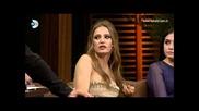 Beyaz Show Serenay Sarıkaya'nın dizideki sümük sahnesi olay oldu! Интервю С Прекрасните Актьори