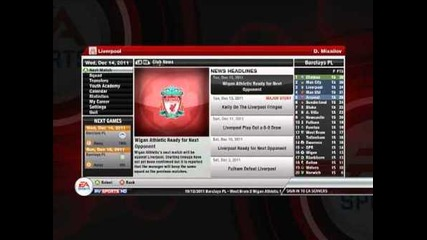 Fifa 12 Manager Liverpool - Ep 4