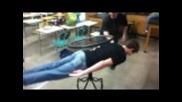 Жироскоп на гърба
