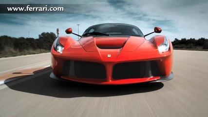 Ferrari-официален старт видео