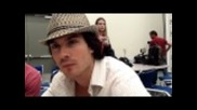 Comic-con 2011: Ian Somerhalder Talks Possible Damon/bonnie Hookup
