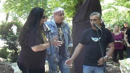 Откриване паметника на Георги Минчев в Каварна