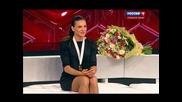 Елена Исинбаева, вечер на канале Россия. Yelena Isinbayeva