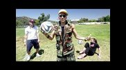 Insane Soccer Skills L. A. with Sean Garnier, Indi Cowie and Taboo | Black Eyed Peas