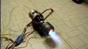 Малък реактивен двигател
