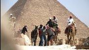 "шега в египед (""пикаене пред пирамидите"")"