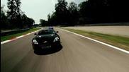 Aston Martin V8 Vantage Dbs, Virage in Autodromo di Monza