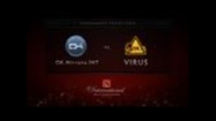 Dota 2 International - Group Stage - Ok.nirvana.int vs Virus