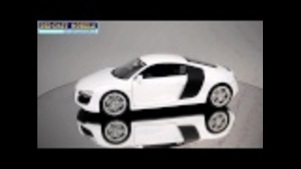 Welly Audi R8 White