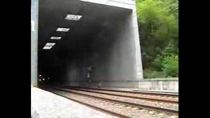 Влак Tgv висока скорост
