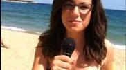 Кукурутка - Интервю на плажа