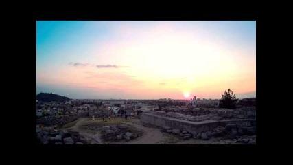 Красив залез над Пловдив (таймлапс)
