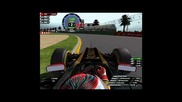 F1 Mod Lotus Australia Q3 Drs and Kers in use