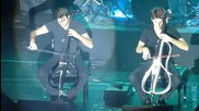 2 Cellos - With Or Without You - Live in Sofia, 9.12.2014
