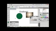 Adobe Illustrator Cs5 Tutorial 4 | Gradients