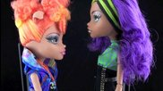 Rad Review: Clawdeen & Howleen Wolf Sisters Set - Monster High