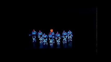 Amazing Tron Dance