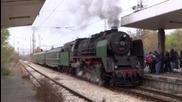 Парен локомотив 01.23 на гара Подуяне - част 1
