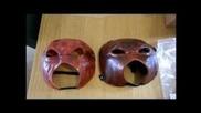 *first On Youtube* Replica Kane Mask + Plastic Kane Mask Wweshop Unboxing