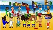 Комично откриване на Световното първенство