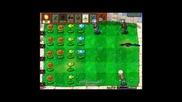 Plants vs Zombies Walkthrough Part 7