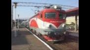 Trenuri dimineata 18.07.2009 la Focsani