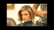 Подстригване на дълга коса с машинка