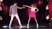 Violetta- вилолета танцува с леон
