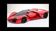 Adriano Raeli Ferrari F80 Hybrid Concept 2015 V8 Biturbo Kers