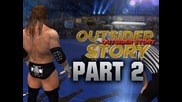 Wwe 12 - Road to Wrestlemania - Outsider ft. Triple H - Part 2 (wwe 12 Hd)