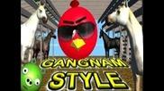 Angry Birds dance Gangnam Style