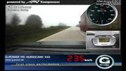 G-power Bmw M5 Hurricane Rr Reaches 357 км/ч на автобан