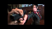 Resident, Evil, Damnation, Cat, Fight, Ada, Wong