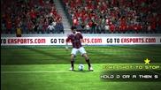 Fifa 13 New Skills tutorial for keyboard
