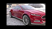 2015 New Ford Mustang Preview @ Evos Hybrid Concept