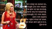 Hannah Montana Forever - Love That Let's Go