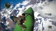 Just Cause 2 Insane skydive!
