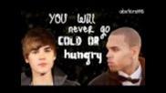 Chris Brown ft. Justin Bieber- Next 2 You Lyrics