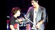 """Jonas Brothers """"l.a. Baby"""" w/ Frankie and Kelly Taj Mahal Atlantic City, Nj 8/28/10"""