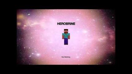 Minecraft:звуците,когато Herobrine е на близо!