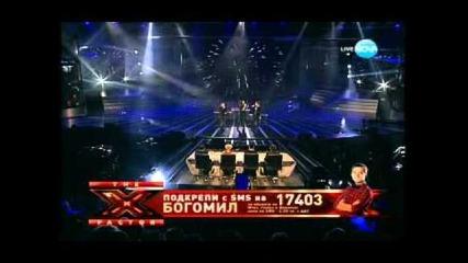 X Factor Bogomil,sani,rafi 11.12.2011