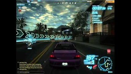 Gameplay - Need for speed world