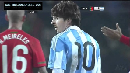 Thats the only way Ronaldo can stop Messi !!!