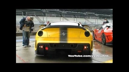 Yellow Ferrari 599xx #97 Sound!!