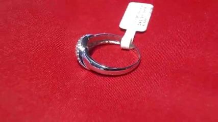 годежен пръстен с аквамарин и диаманти Kirkorian Diamonds
