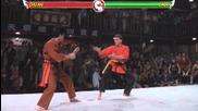 Van Damme in Mortal Kombat: Bloodsport Edition