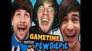 Pewds & Smosh's Madagascar (gametime w/ Smosh)
