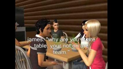 Sims total drama island epsode 1