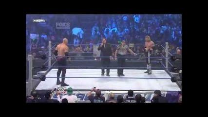 Edge Vs Kane - World Heavyweight Championship