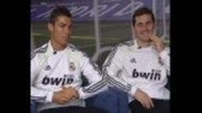 cr7 vs Iker cassilas